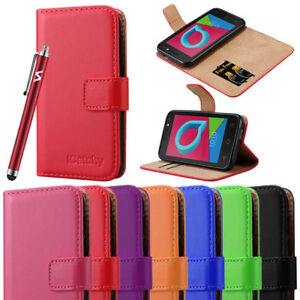 new arrival f9af6 4a7e8 Details about For Alcatel U3 3G Phone Case Luxury Leather Magnetic Flip  Wallet Stand Cover