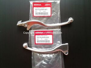 Honda-PCX125-PCX150-Front-and-Rear-Brake-Lever-Set-2009-2014-Genuine-OEM