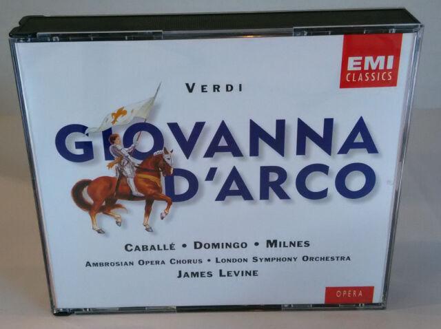 VERDI - GIOVANNA D'ARCO - P. DOMINGO - EMI - Cofanetto CD - OPERA