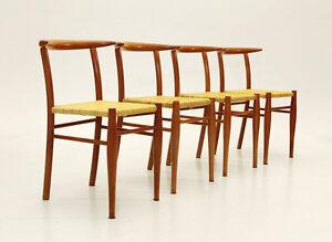 Set di 4 sedie Mod. Tessa nature, Aleph di Philippe Starck per ...