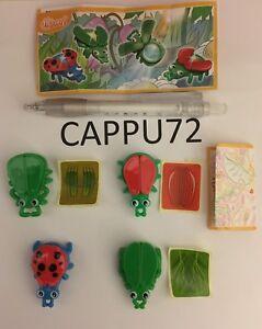 INSETTI-LENTE-Offerta-COMPLETA-4-PZ-4-BPZ-da-SE201-a-SE204-kinder-2017-18