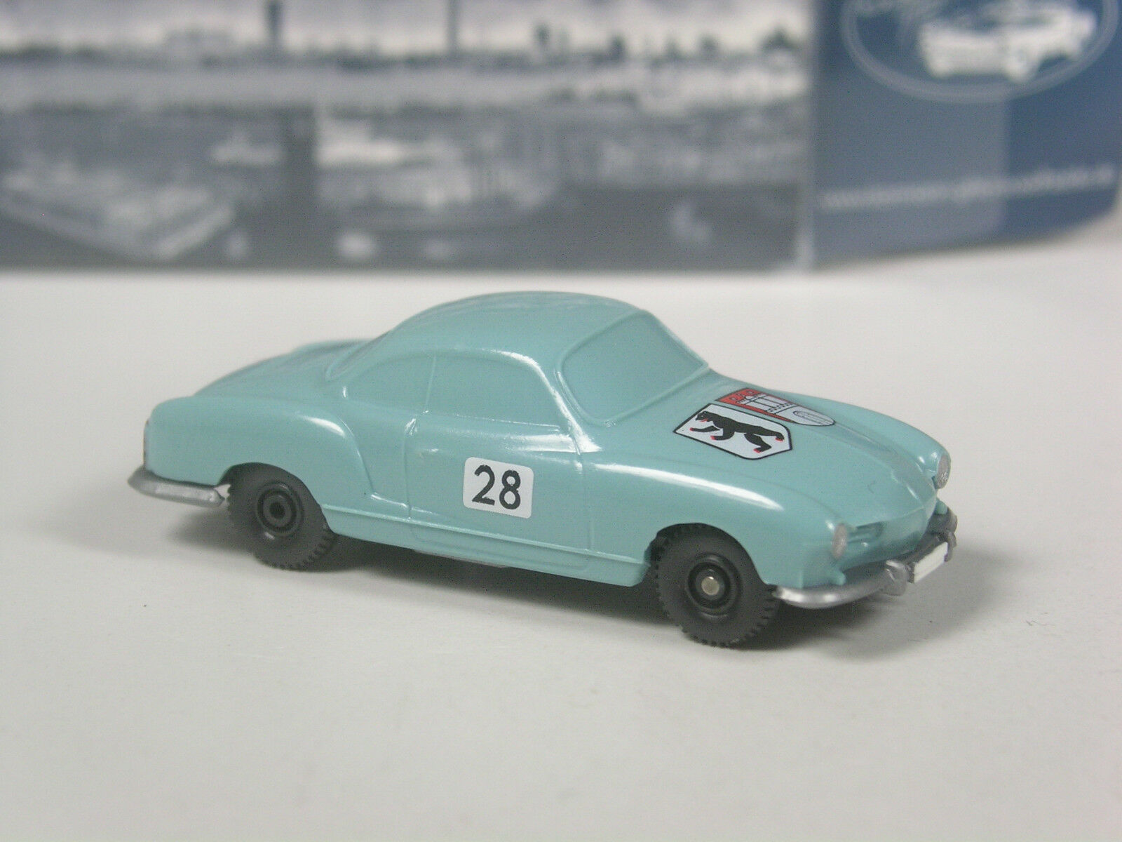 TOP  Wiking Werbemodell VW Karmann Ghia Rallye Hamburg Berlin in OVP