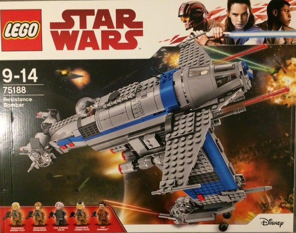 Lego Star Wars Resistance Bomber - 75188- Neuf et scellé - Sealed MISB
