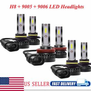 110W 9006+9005+H11 Car LED Headlight Conversion Kit 6000K
