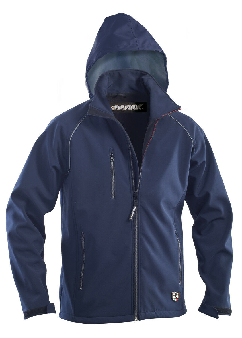 Giubbotto Softshell  Montreal  color blue