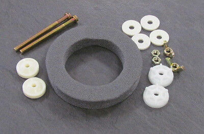 "FLUSHING VALVE 2/"" CLOSE COUPLING KIT 2 BOLTS AND FOAM WASHER CISTERN FITTINGS"