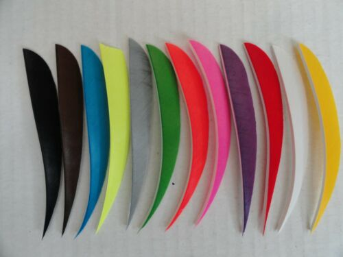 "RW or LW 12 Pack TrueFlight 5/"" Parabolic Feathers"