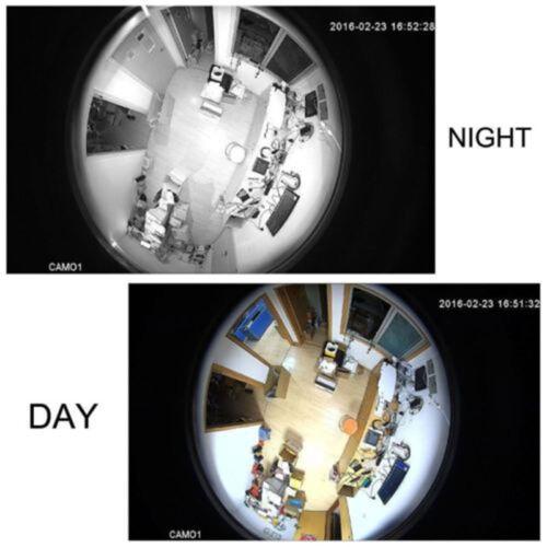 HD 1080P AHD Cam CCTV Security Camera 360 degree Wide Angle Fisheye night vision