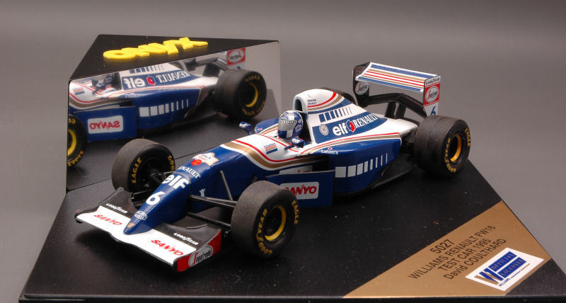 Williams FW16 D. Coulthard Test Car 1995 Formula 1 1 24 Model