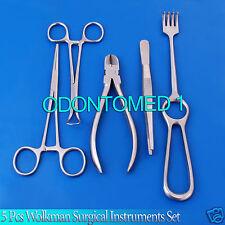 5 Pcs Surgical Instruments Medical Equipment Set Ds 640