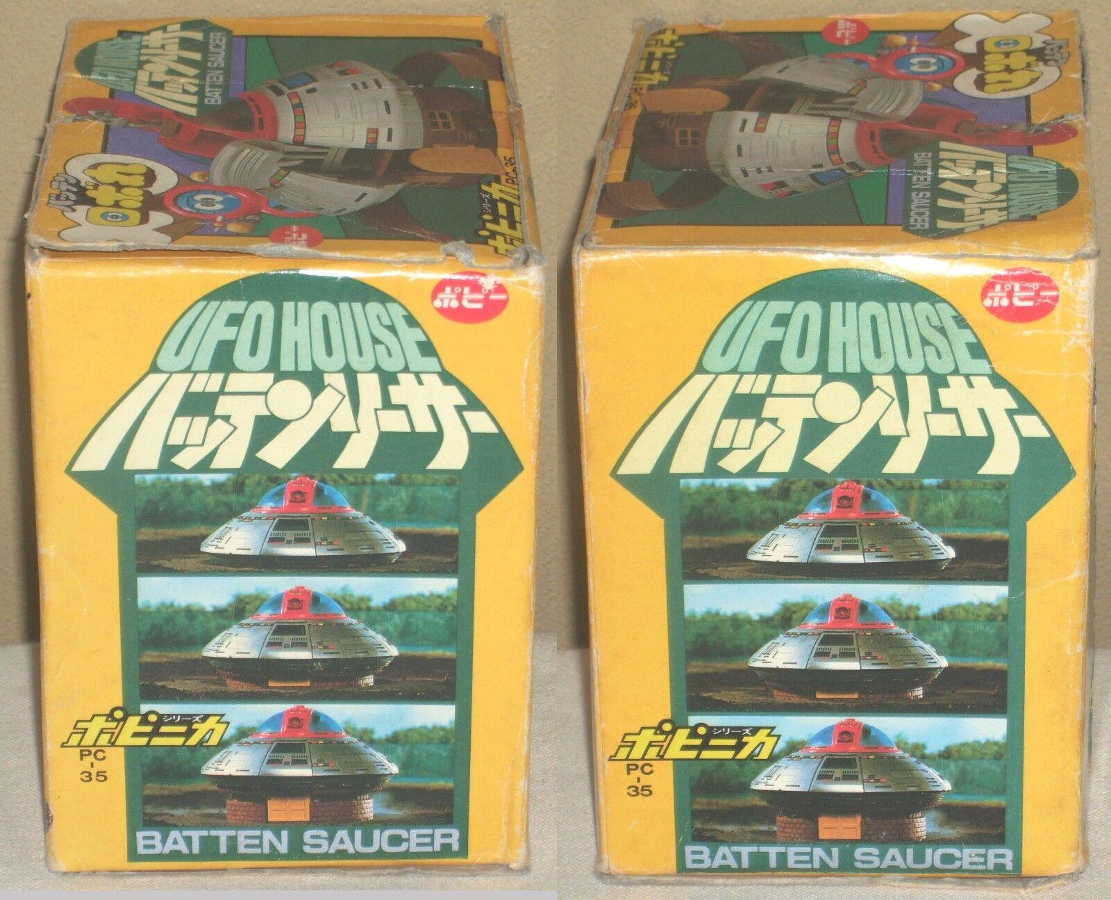 Robot Saucer Robomaru Batten House Saucer Robot Chogokin Figure Dolls PC-35 Popy 1983 Rare a83d86