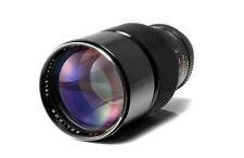 Soligor  MC 200mm f2.8 telephoto lens Konica AR mount  Mint