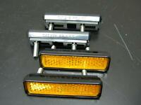 Cateye Pedal Reflectors Set Road Touring Vintage Bicycle (013)