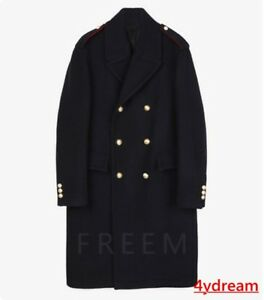 Men-Lapel-Collar-Trench-Coat-Double-Breasted-Military-Blazer-Fashion-Jacket
