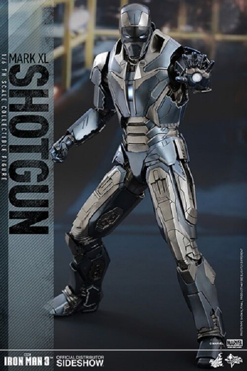 1 6 Iron Man 3 Iron Man Mark XL Shotgun Movie Masterpiece Hot Toys