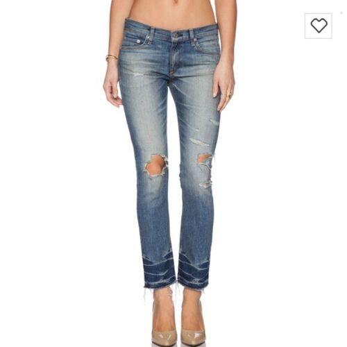 Rag And Bone Ensenada Crop Denim Jeans Pants 28
