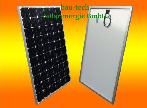 Module solaire 250 W Watts Monokristallin Panneau Solaire PV Module Cellule Solaire