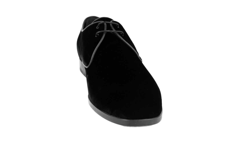 Luxe tod's velours velours velours Derby Schnuer Chaussures xxm0zh0q760lx0b999 Noir 8 42 42,5 | Authentique  436969