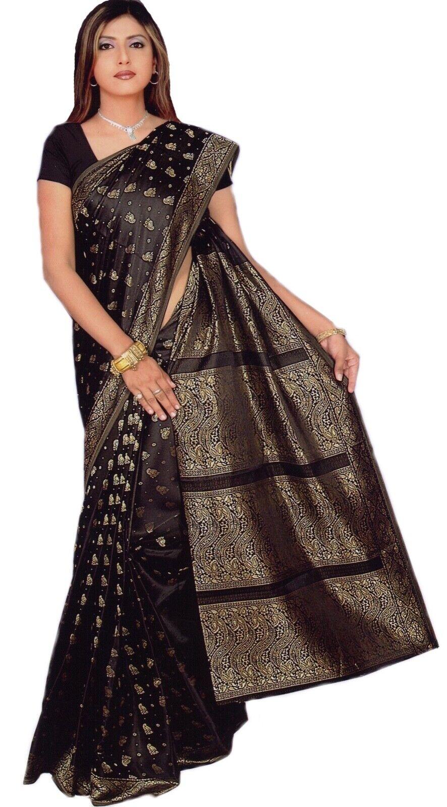 Hellblau Bollywood Karneval Sari Orient Indien CA112