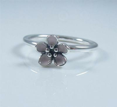 Authentic Genuine Pandora Silver Cherry Blossom Ring 190879EN40-50