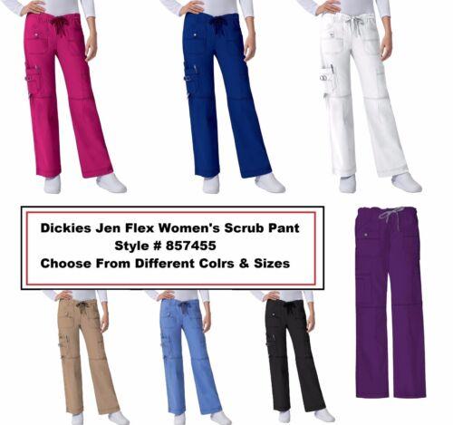 Dickies Scrubs Women Gen Flex 857455 Cargo Pants All Sizes Colors Free Shipping