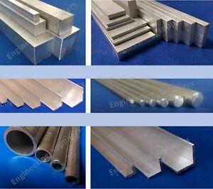 Charmant Metal Aluminium Rond Carré Plat Bar/rod & Pipe/tube De 100 Mm à 600 Mm Lng-afficher Le Titre D'origine