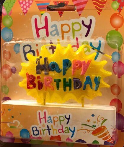 BIRTHDAY CAKE CANDLES FOR CELEBRATION HAPPY BIRTHDAY//BOY//GIRL