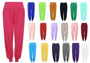 Femme Plus Taille Harem Pantalon Ali Baba Pantalon Long Baggy Hareem Leggings-afficher Le Titre D'origine Ventes Bon Marché