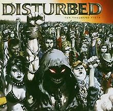 Ten-Thousand-Fists-von-Disturbed-CD-Zustand-gut