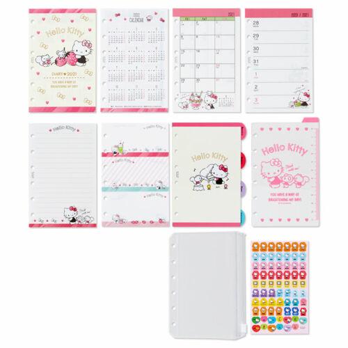 2021 Hello Kitty Agenda Refills For LV PM /& FF Pocket Organiser PINK