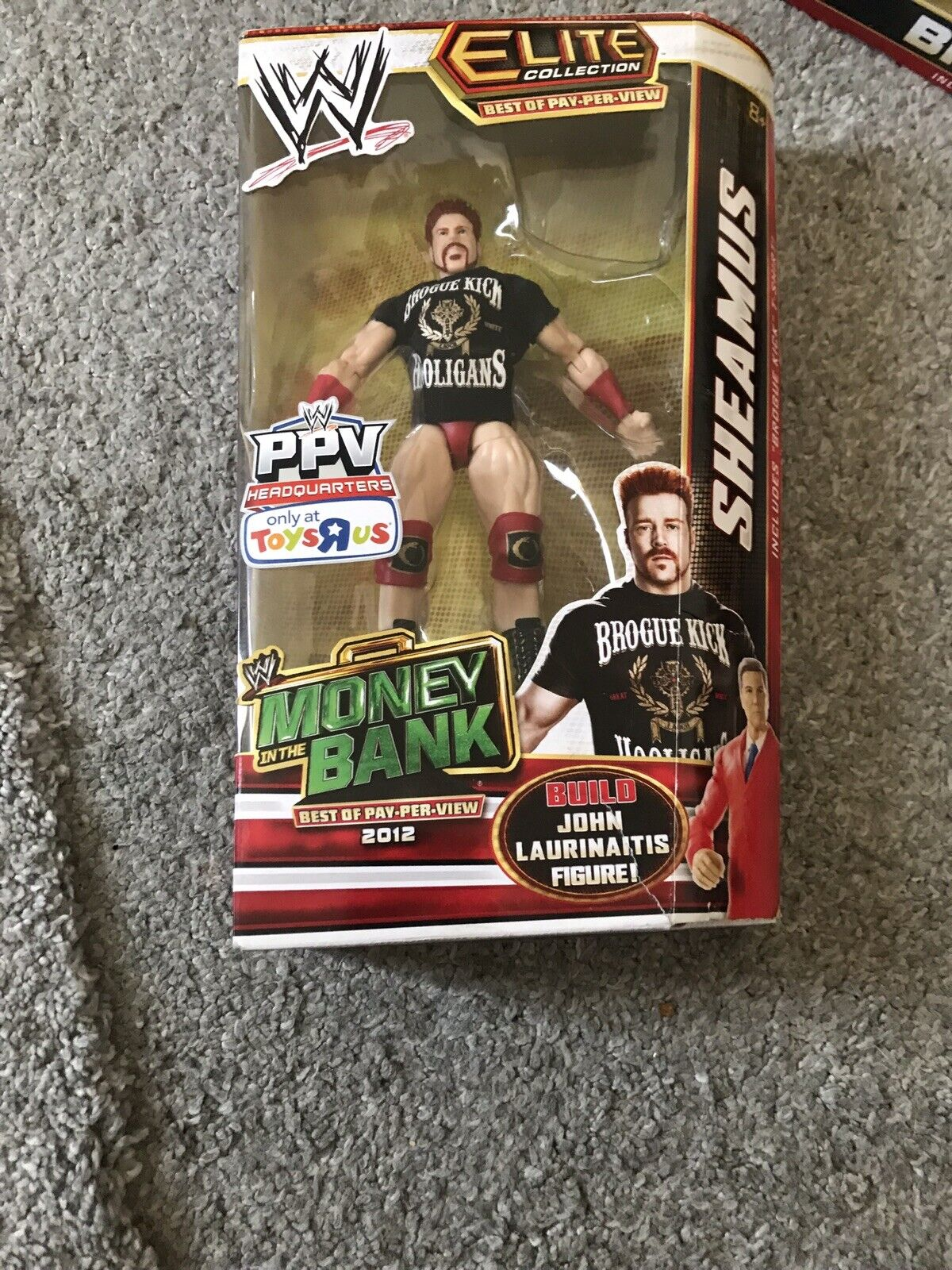 WWE Elite Elite Elite Collection PPV Headquarters Money in The Bank - Sheamus Action Figure c20143