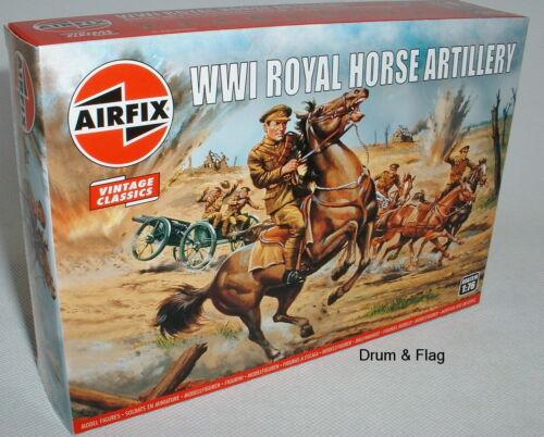 Échelle 1//76 AIRFIX 0731 WW1 british royal horse artillery