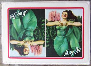 Gino Boccasile Mugolio Masenghini Bollo 1954 cartes à jouer publicitaires