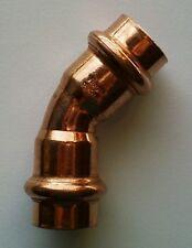 10x Viega Bogen 45 Grad SC Profipress 2426 15 mm 292348 Kupfer Fitting Pressen