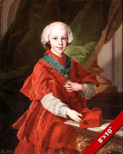 DON LUIS OF SPAIN AS A CHILD PORTRAITPAINTING HISTORY ART REAL CANVAS PRINT