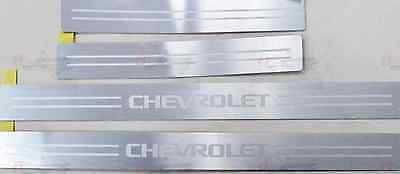 2013-2015 Chevrolet Spark Door Sill Guards (4pc) by GM 96955251 OEM
