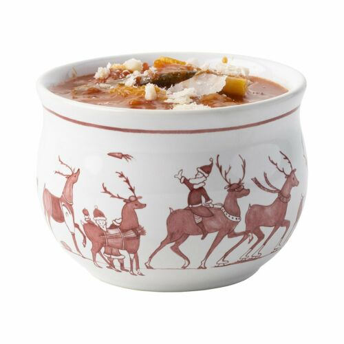 Country Estate Reindeer Games Colleciton Comfort Bowl