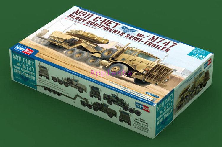 Hobbyboss 1 35 85519 M911 C-HET W M747 Heary Equipment Semi-Trailer Model Kit
