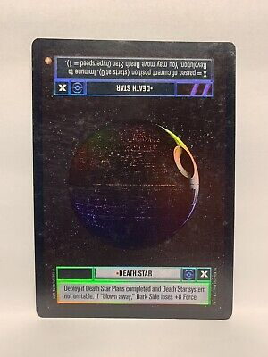 Star Wars CCG Reflections I Foil Card Death Star Plans