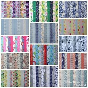 20-25-JELLY-ROLL-STRIPS-100-COTTON-PATCHWORK-FABRIC-CRAFTS-22-INCH-LONG