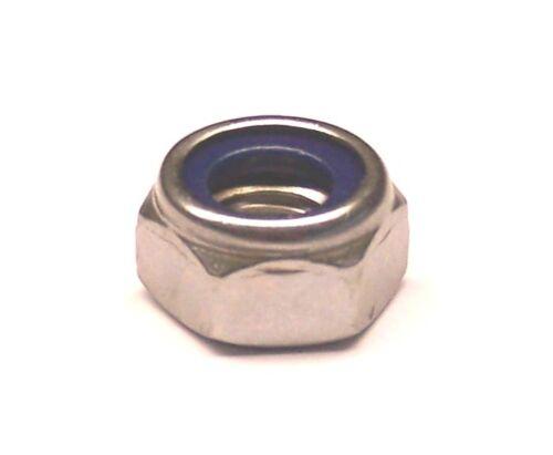 DIN 985 ISO 10511 selbstsichernde Muttern Edelstahl A2 von M3 bis M10