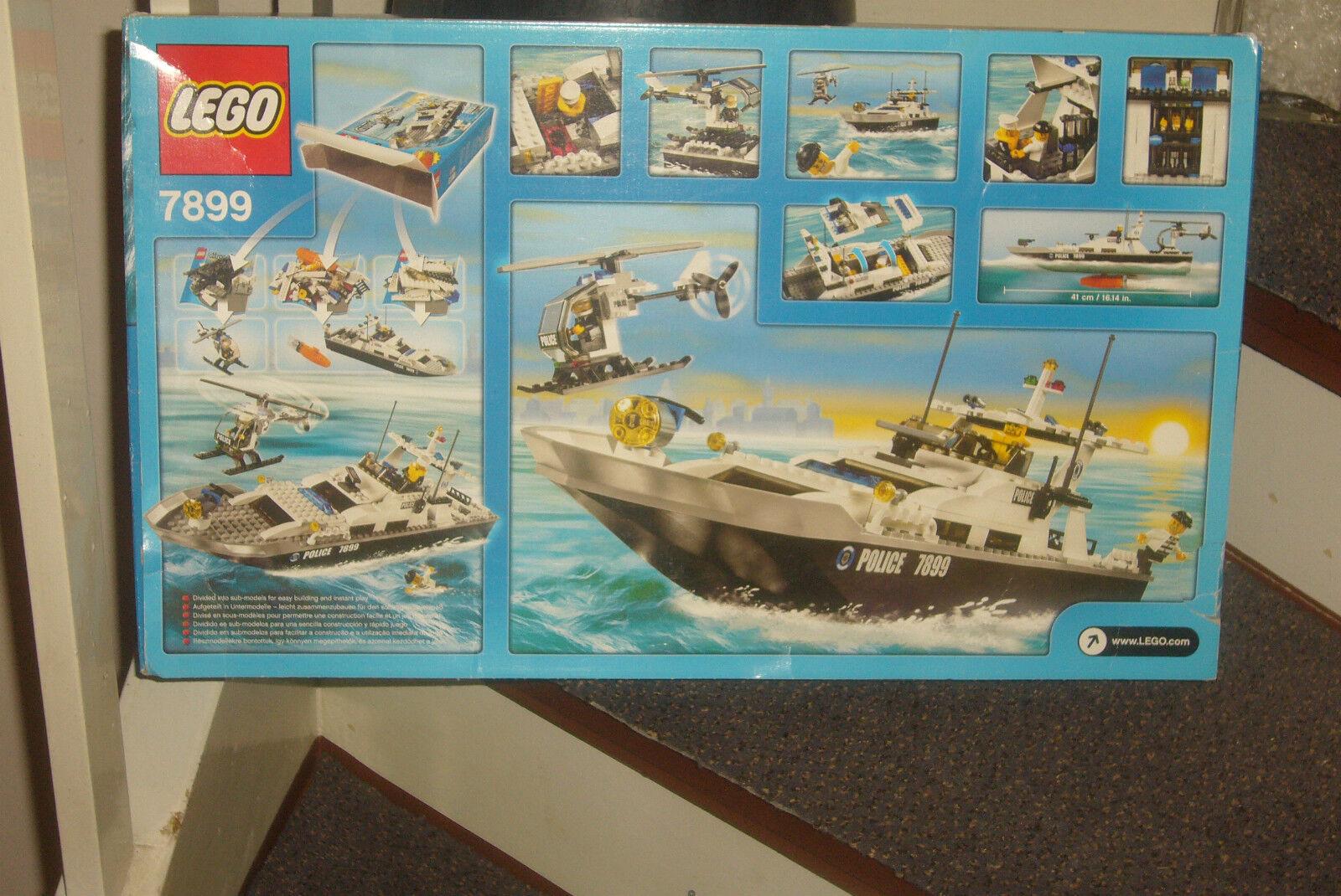 Lego PolizeiStiefel 7899 (schwimmfähig) komplett mit Motor, Bauanleitung und OVP