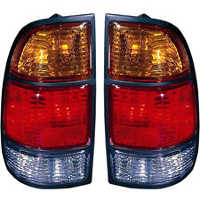 Pair (Left & Right) Tail Lights Fits 2000-2004 Toyota Tundra with Standard Bed