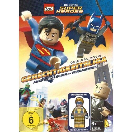 Lego Super Heroes - Gerechtigkeitsliga: Angriff DVD inkl. ldt. Lego Minifigur