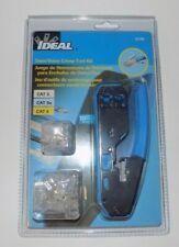 Ideal 33 396 Datavoice Modular Plug Crimp Tool Kit New