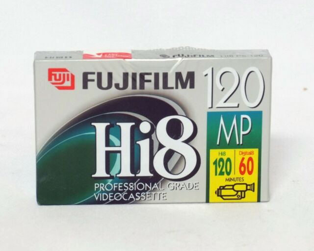Fuji Fujifilm Hi8 Digital8 8mm 120min 60min Pro Grade Video Camera Cassette NEW