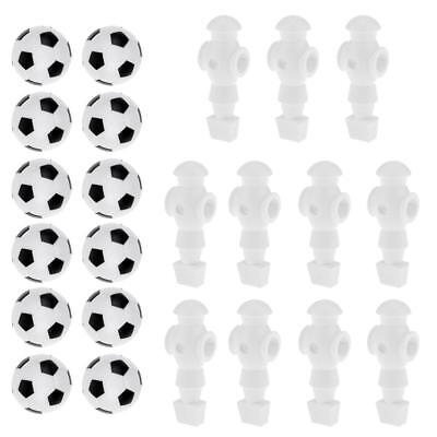 S 12Pcs//Set Table Soccer Foosballs Replacement Balls Colorful 60mm NEW