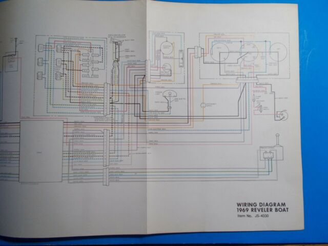 1969 Johnson Reveler Boat Wiring Diagram Js