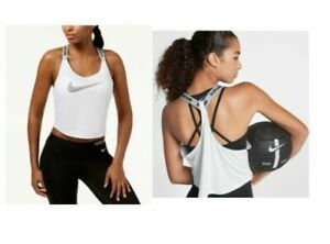 f4d6112e168 Image is loading NIKE-Women-039-s-Dry-Cropped-Training-Tank-