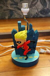 The Incredibles Lamp Base Works Light Up Buildings Dash Disney Direct Pixar Ebay